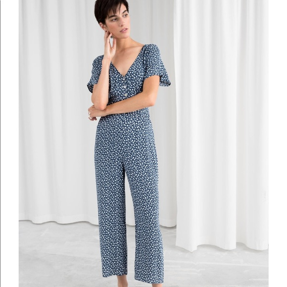 new list catch shopping & Other Stories Button Down Jumpsuit